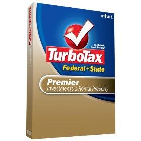 TurboTax Premier Federal State eFile 2008
